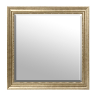 Champagne Framed Mirror, 30x30