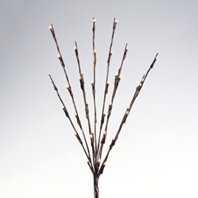Pre-Lit Willow Branches, 28in.