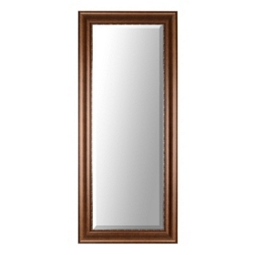Bronze Framed Mirror, 34x80