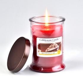 Velvet Cake Jar Candle