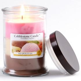 Neapolitan Jar Candle