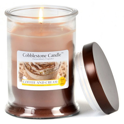 Coffee & Cream Jar Candle