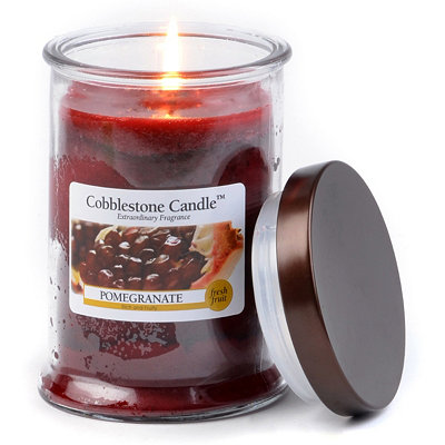 Pomegranate Jar Candle, 18 oz.