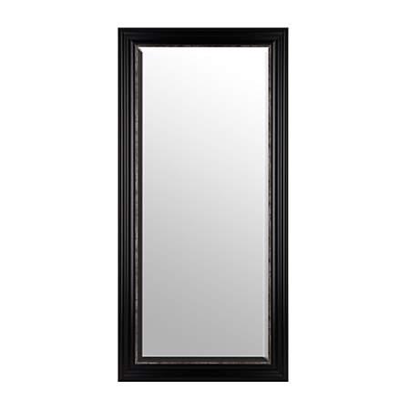 Black Full Length Mirror 32x66 Kirklands