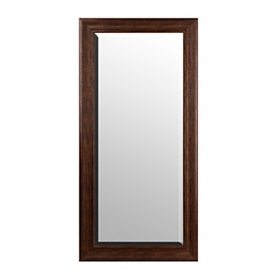 Antiqued Gold Full Length Mirror, 32x66
