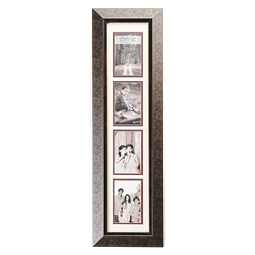 Bronze Scroll Collage Photo Frame