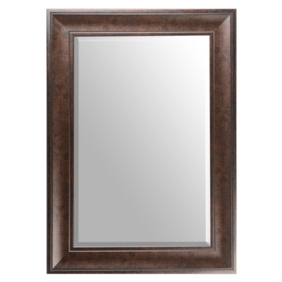 Dark Bronze Framed Mirror, 33x45