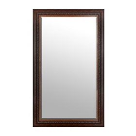 Mahogany Framed Mirror, 46x76