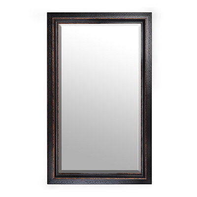 Black Framed Mirror, 46x76