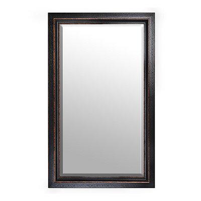 Black Framed Mirror, 46x76