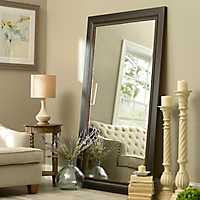 46x76 inch Black Framed Mirror