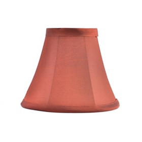 Brick Red Chandelier Shade