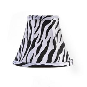 Zebra Chandelier Shade