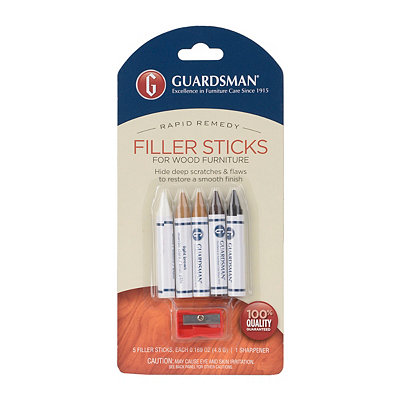 Furniture Filler Stick & Sharpener, Set of 5