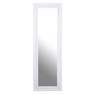 Kirklands white full length mirror 18x53 customer for White full length wall mirror