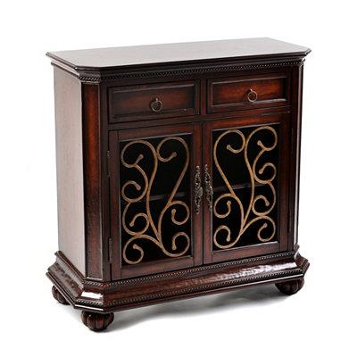 Wood Mahogany Wynstone Cabinet