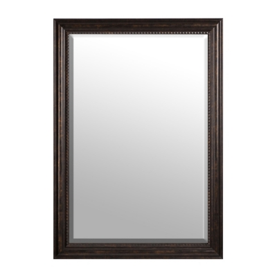 Dark Bronze Framed Mirror, 30x42 in.