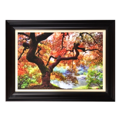 Magical Forest Framed Art Print