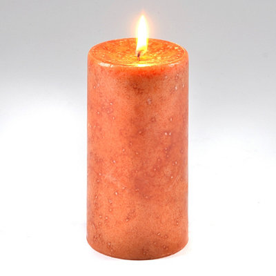 Brown Sugar Vanilla Pillar Candle, 6 in.