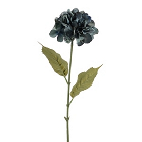 Blue Hydrangea Floral Stem