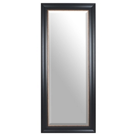 Black Full Length Mirror, 34x80