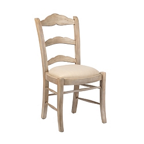 White Wash Caroline Dining Chair