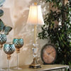 Champagne Crystal Buffet Lamp