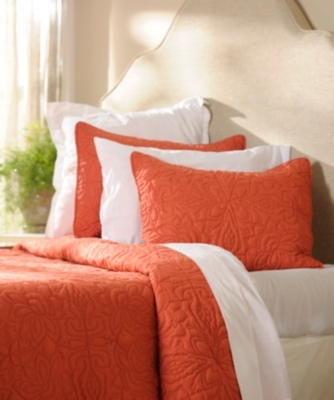 Spice Red 3-pc. Queen Quilt Set