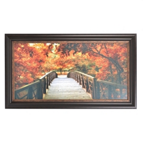 Entrance to Autumn Framed Art Print
