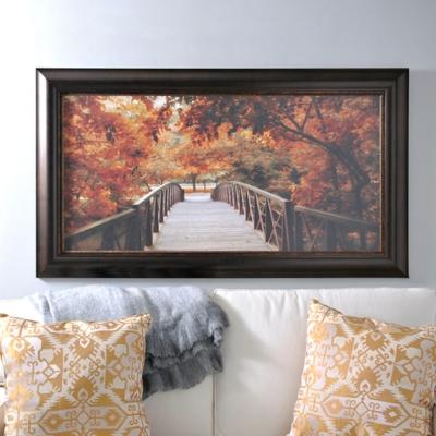 Entrance to Autumn Framed Art Print