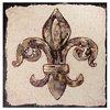 Gold Fleur-de-Lis Canvas Art Print