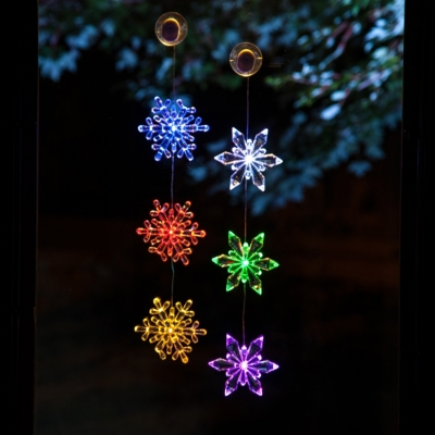 Acrylic LED Snowflake Chain