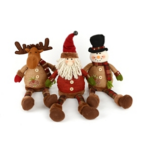Rustic Christmas Character Shelf Sitters