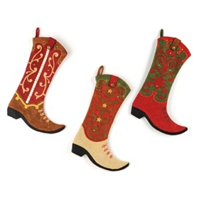 Western Boot Stockings