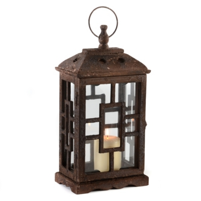 Antique Brown Lantern