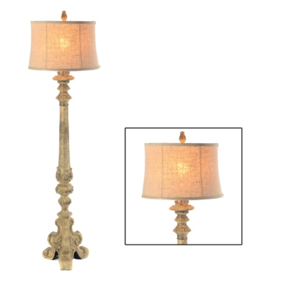 French Candlestick Floor Lamp