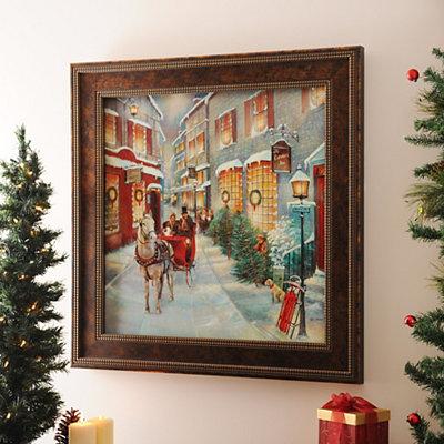 Kirklands Christmas Memories Framed Art Print Customer