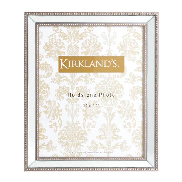 beveled mirror frame 11x14 kirklands - Mirrored Picture Frame