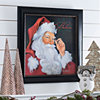We Believe in Santa Framed Art Print