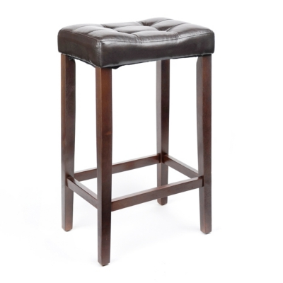 Saddle Brown Bar Stool