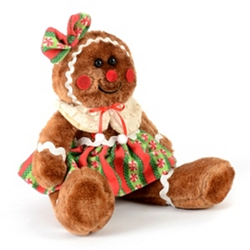 Stuffed Gingerbread Girl