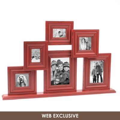 Red Collage Frame