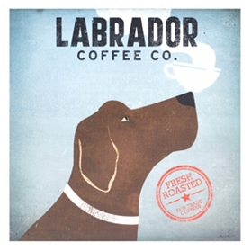 Labrador Coffee Canvas Art Print