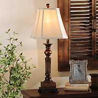 Bronze Resin Richard Table Lamp