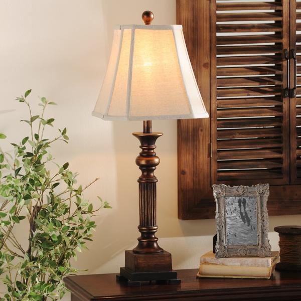 bronze resin richard table lamp - Table Lamps