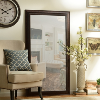 Tortoise Full Length Mirror, 38x68 in.