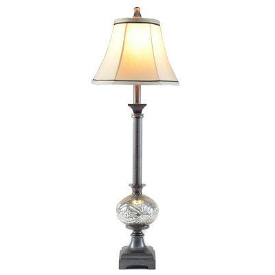 Kirklands Mercury Glass Buffet Lamp Questions Answers
