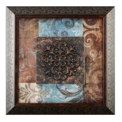 Blue & Brown Shadowbox