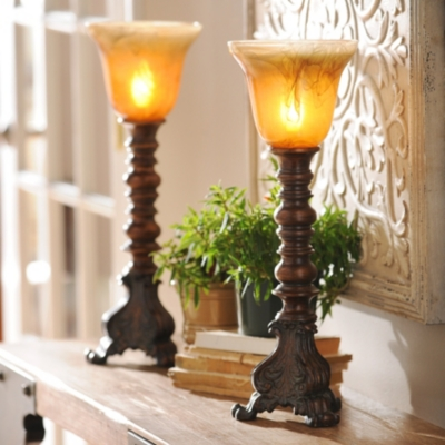 Hampshire Uplight, Set of 2