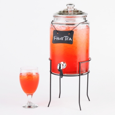 Beverage Dispenser with Chalk Board